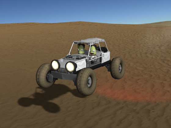 Sand Buggy mit Karosse ;-)