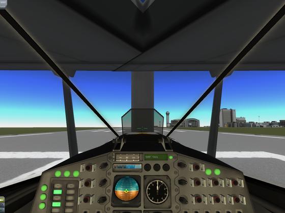 Beleuchtete Cockpitstreben