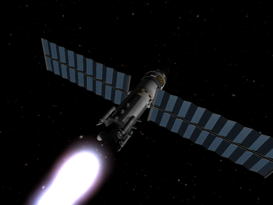 Unbemannter Orbiter RC1-Probe MKI