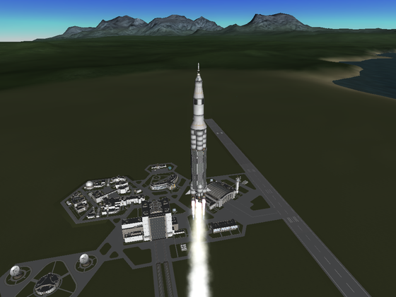 Stock Apollo Saturn V