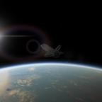 Shuttle reentry!