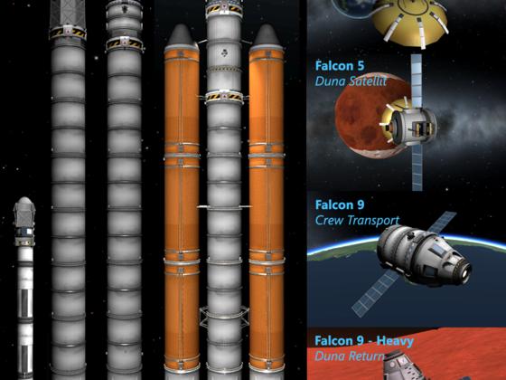 Falcon Raketen