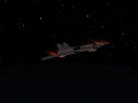 Reentry bei meinem Testflug