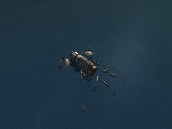 Erfolgreiche Landung in Teilen